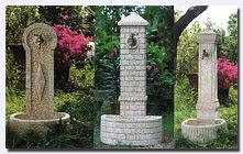 Fontane Da Giardino Vedovelle In Cemento Granito Ghisa Pictures